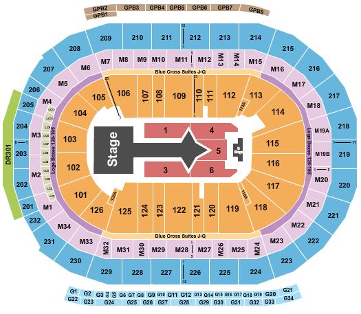 Little Caesars Arena Seating Chart