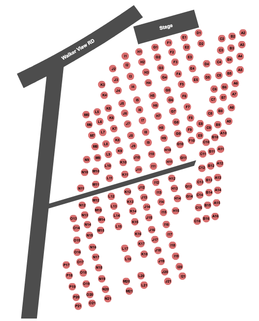 Marquee Theatre Seating Chart