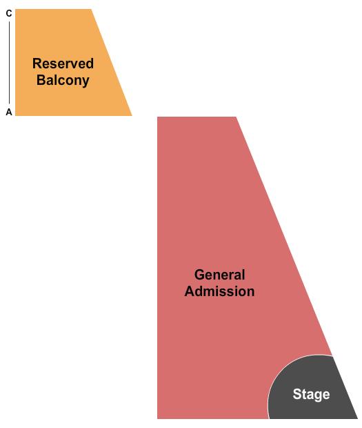 McMenamins Crystal Ballroom Seating Chart
