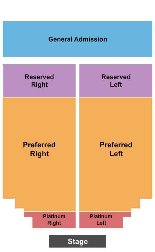 Meadow Event Park Seating Chart