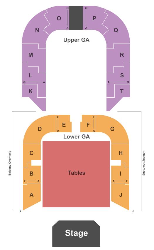 Memorial Auditorium Seating Chart