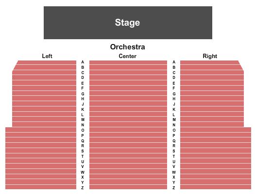 Milford Veterans Memorial Auditorium Seating Chart
