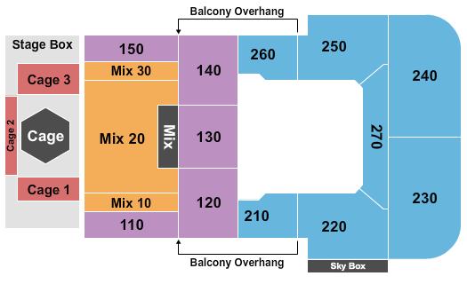 Motorcity Casino Hotel Seating Chart