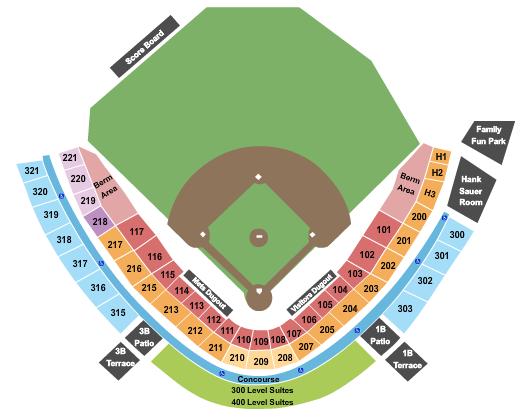 NBT Bank Stadium Seating Chart