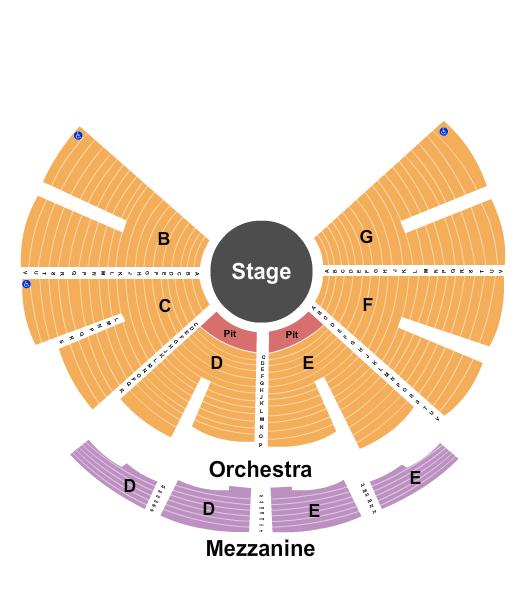 NYCB Theatre at Westbury Seating Chart