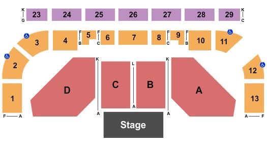 Northwest Arena Seating Chart: Jeff Foxworthy