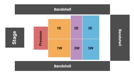 Daytona Beach Oceanfront Bandshell Seating Chart