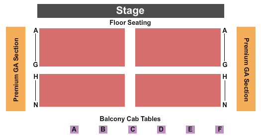 Old Forester's Paristown Hall Seating Chart