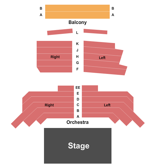 One World Theatre Seating Chart