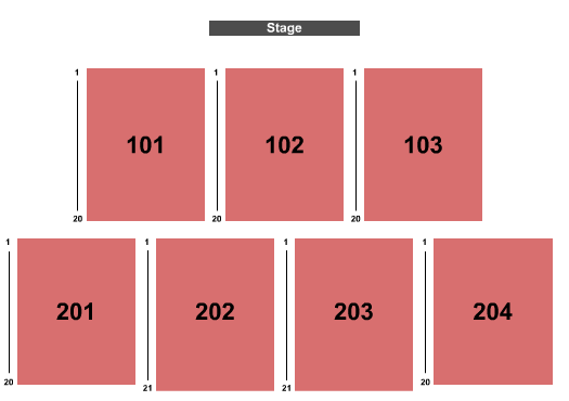 Outdoors at Holland Performing Arts Center Seating Chart