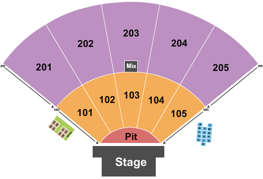 Ozarks Amphitheater Seating Chart