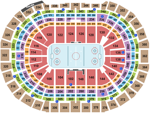 Ball Arena Seating Chart