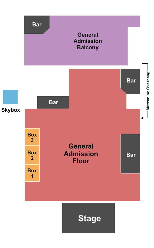 Phoenix Concert Theatre Seating Chart