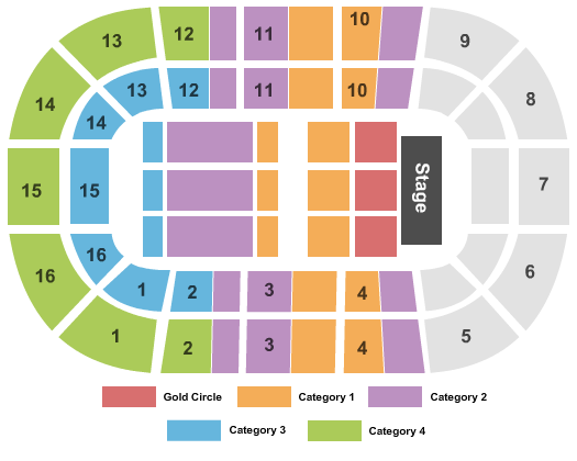 Porsche Arena Seating Chart