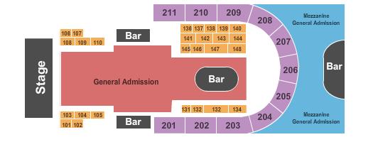 Rebel Seating Chart