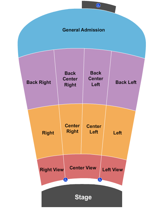Red Rocks Amphitheatre Seating Chart