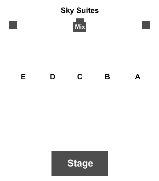 Resorts World Catskills - Monticello Seating Chart: Endstage 2
