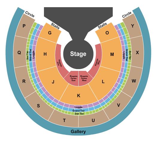 Royal Albert Hall Seating Chart: Cirque