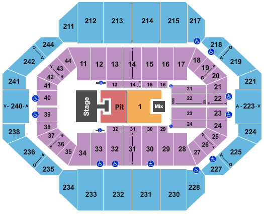 Rupp Arena At Central Bank Center Seating Chart