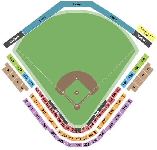 Scottsdale Stadium Seating Chart