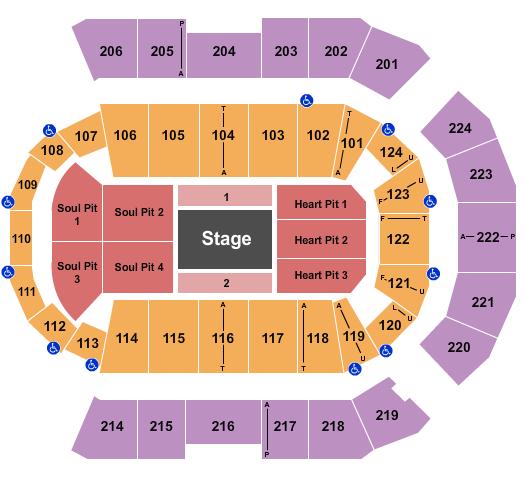 Spokane Arena Seating Chart