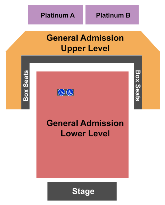Stage AE Seating Chart