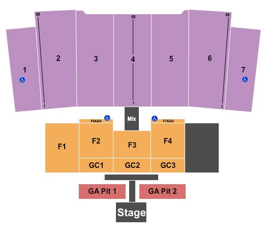 Stambaugh Stadium Seating Chart