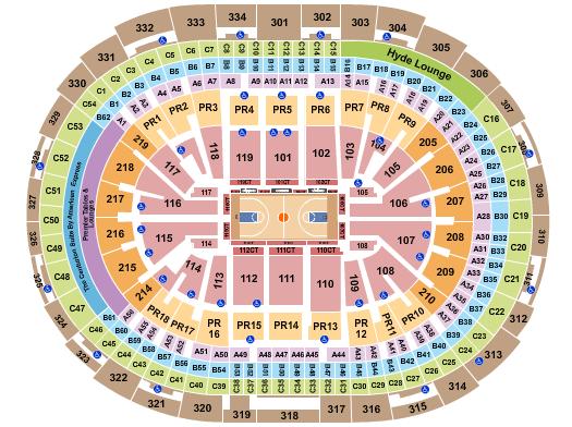 Staples Center Seating Chart