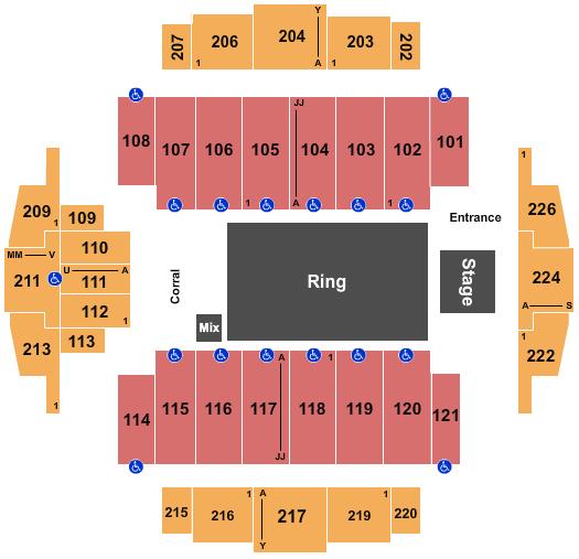 Tacoma Dome Seating Chart