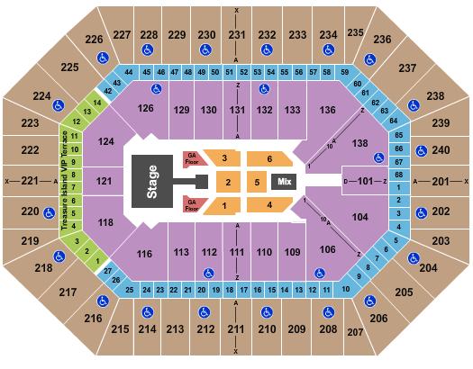 Target Center Seating Chart