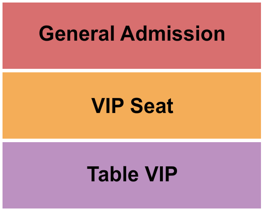 The Ballroom at Warehouse Live Seating Chart