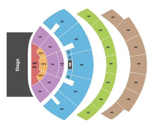 The Colosseum At Caesars Palace Seating Chart