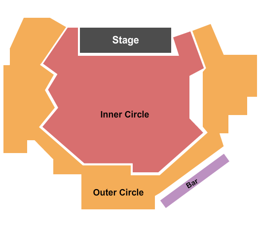 The Comedy Zone Seating Chart