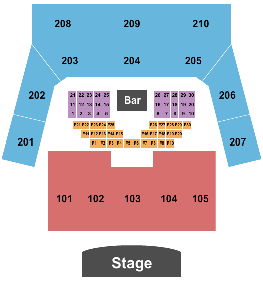 The Factory Seating Chart
