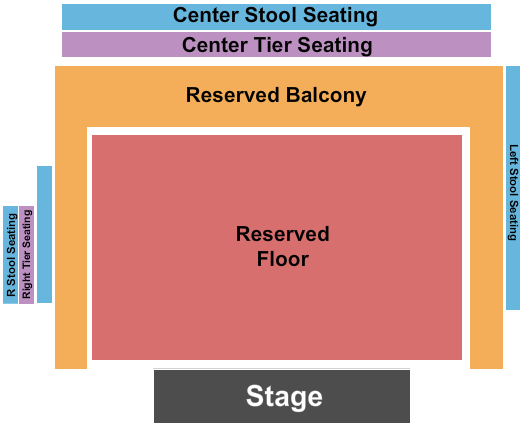 The Fillmore Seating Chart