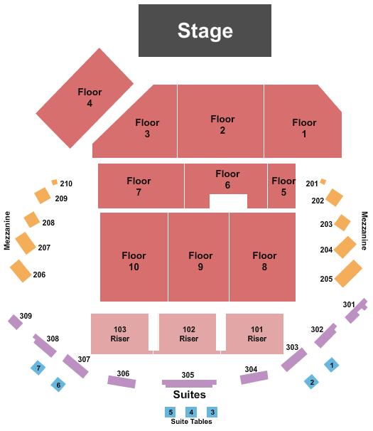 The Hall at Maryland Live Seating Chart: Josh Groban