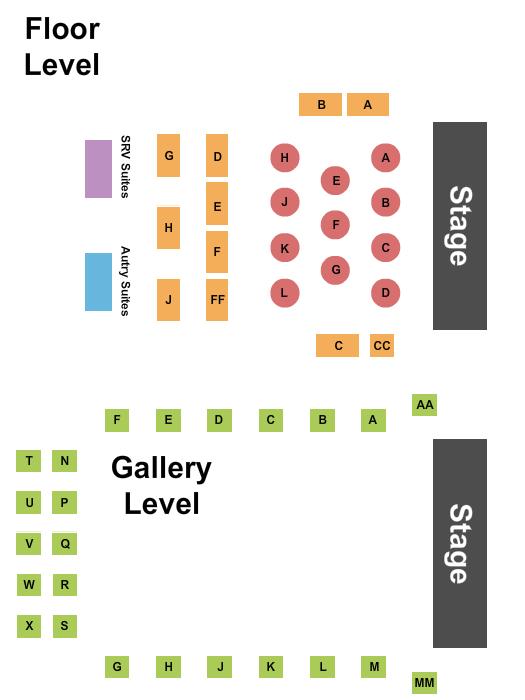 The Kessler Seating Chart