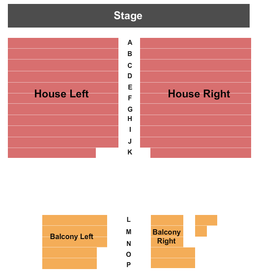 The Spire Center for the Performing Arts Seating Chart