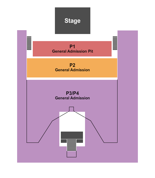 The Union Event Center Seating Chart