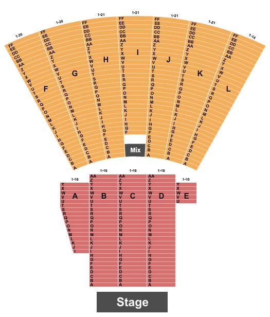 Toledo Zoo Amphitheatre Seating Chart