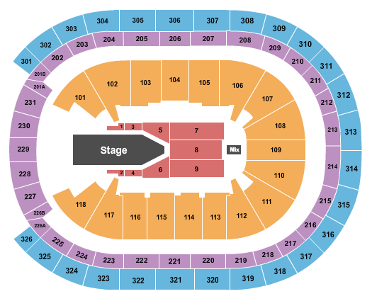 UBS Arena Seating Chart