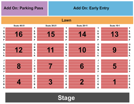 Univest Performance Center Seating Chart