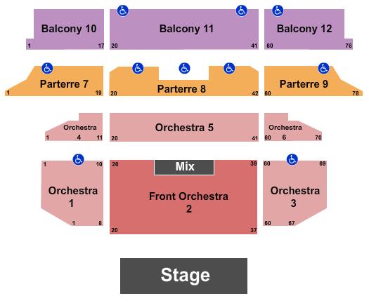 Venetian Theatre At the Venetian Hotel Las Vegas Seating Chart: Jackson Browne