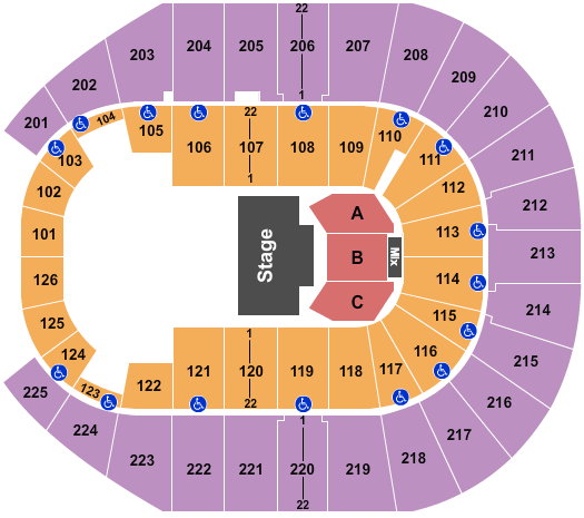 Simmons Bank Arena Seating Chart: Paw Patrol