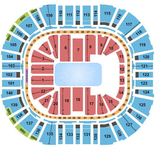 Vivint Smart Home Arena Seating Chart: Disney On Ice 2