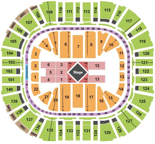 Vivint Smart Home Arena Seating Chart