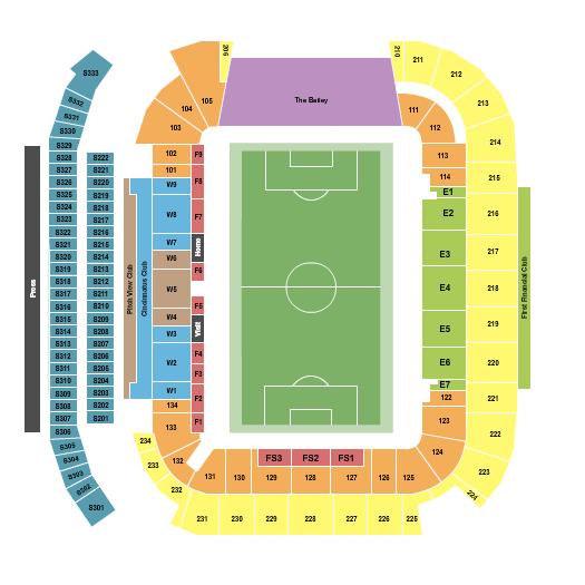 TQL Stadium Seating Chart
