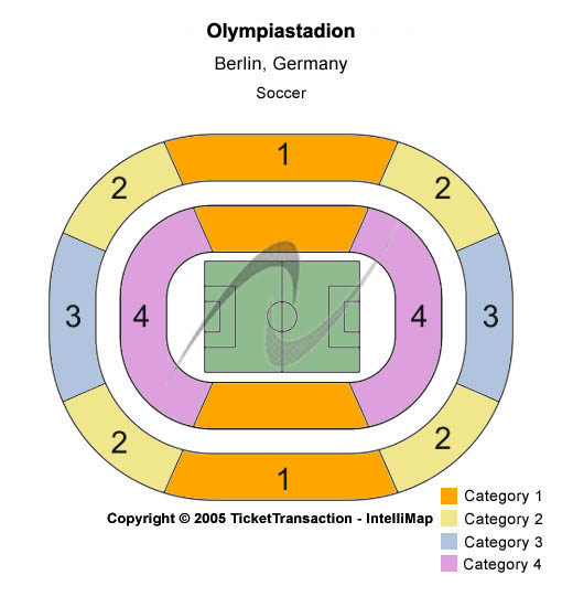 Olympiastadion Berlin Seating Chart