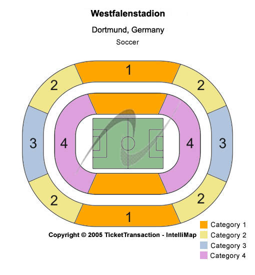 Westfalenstadion Seating Chart
