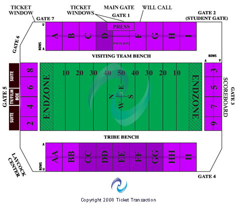 Zable Stadium Seating Chart